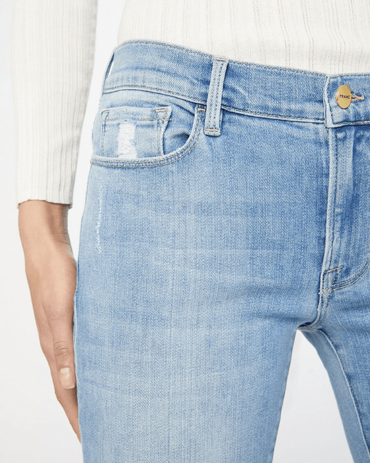 Frame Denim Le Garcon in Overturn