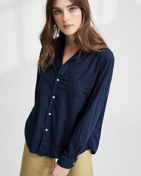 Frank & Eileen Clothing Blueberry / XS Eileen Relaxed Button Down in Blueberry
