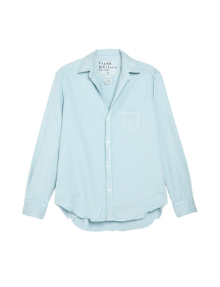 Frank & Eileen Clothing Eileen Relaxed Button Down in Sea Foam Denim