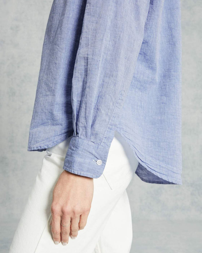 Frank & Eileen Clothing Eileen Relaxed Button Down in Washed Blue