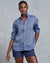Frank & Eileen Clothing Washed Blue Linen / XS Eileen Relaxed Button Down in Washed Blue Linen