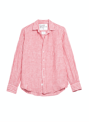 Frank & Eileen Clothing Washed Red Stripe / XS Eileen Relaxed Button Down in Washed Red Stripe