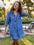 Frank & Eileen Clothing Mary Shirtdress in Famous Blue