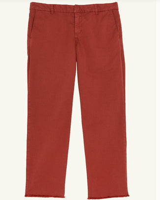 Frank & Eileen Clothing Wicklow Italian Chino in Rust