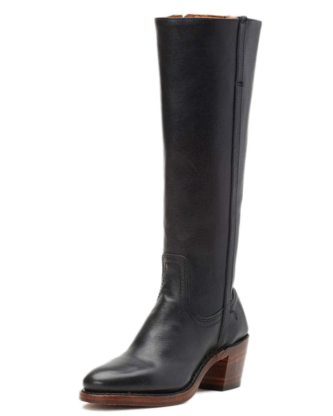 Frye Shoes Black / 6 Addison Tall Zip