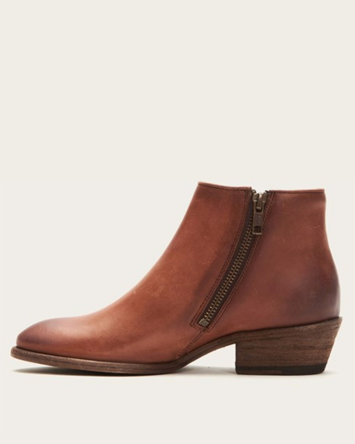 Frye Shoes Cognac / 6 Carson Piping Bootie