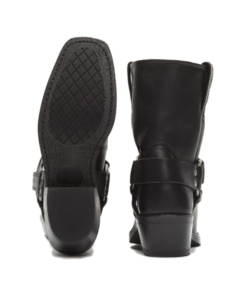 Frye Shoes Black / 6 Harness 8R