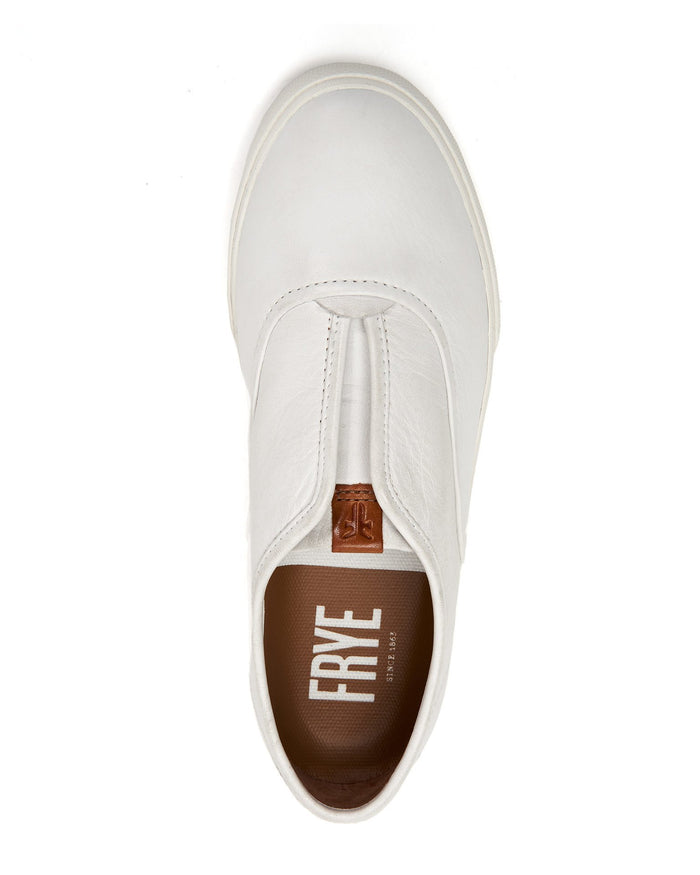 Frye Shoes White / 6 Maya CVO Slip On
