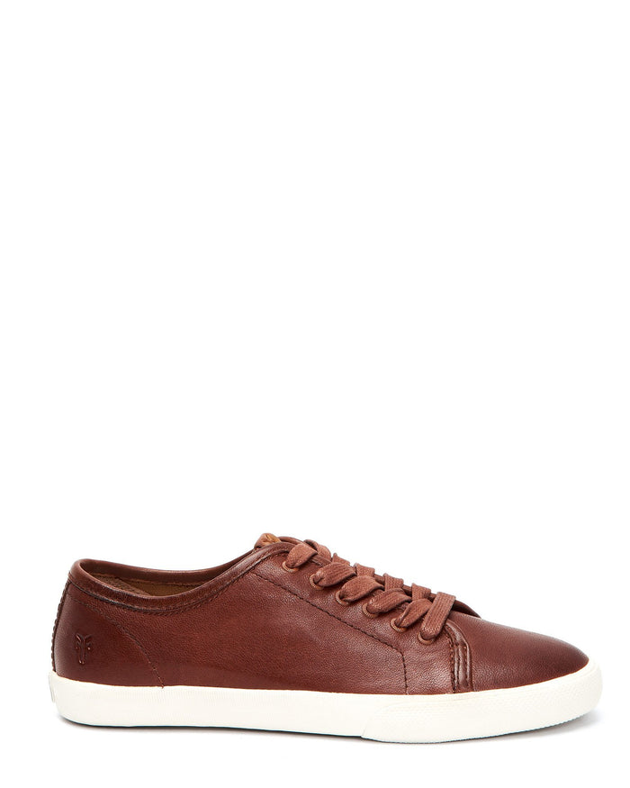 Frye Shoes Cognac / 6 Maya Low Lace