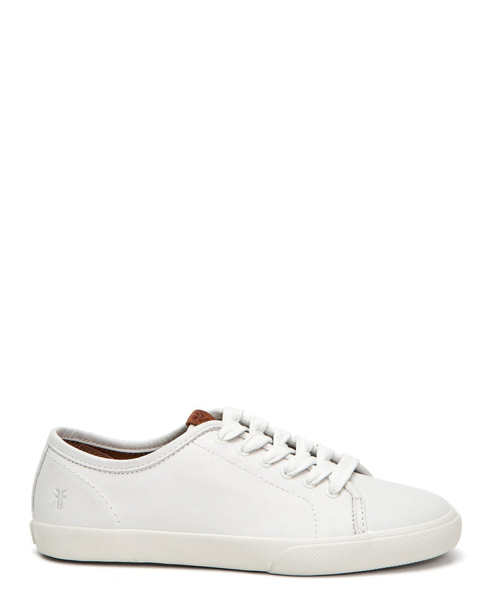 Frye Shoes White / 6 Maya Low Lace