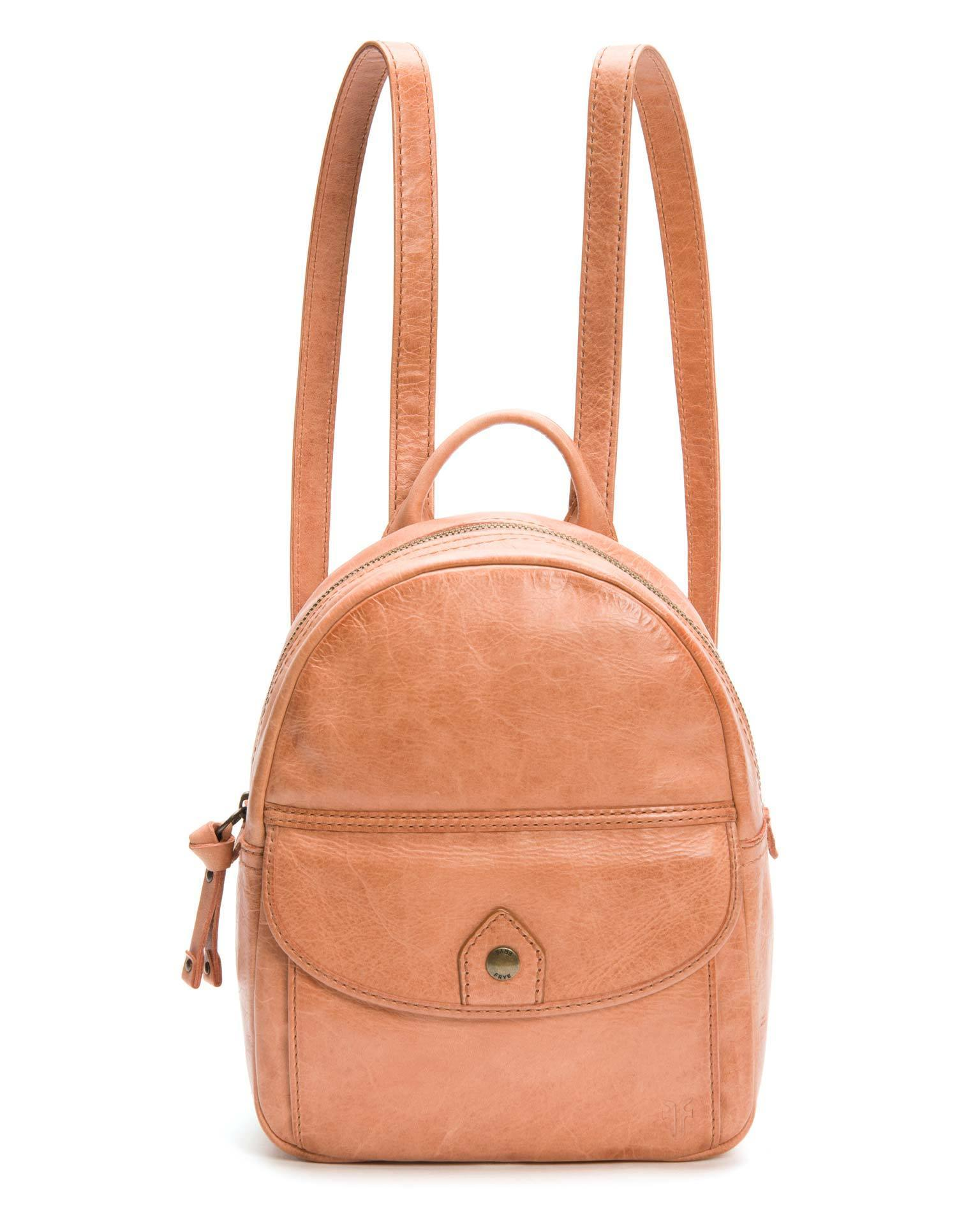 Frye Accessories Dusty Rose / O/S Melissa Mini Backpack