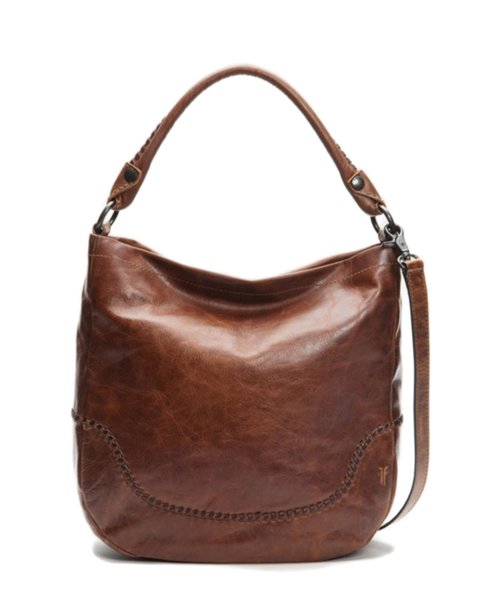 Frye Accessories Cognac / O/S Melissa Whipstitch Hobo