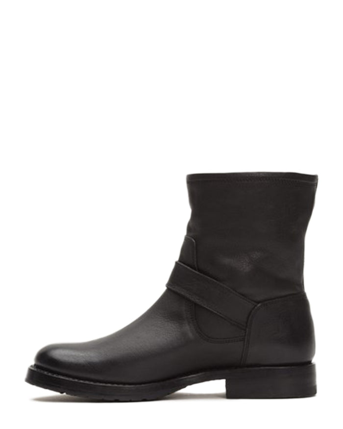 Frye Shoes Black / 6 Natalie Short Engineer