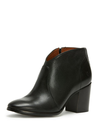 Frye Shoes Black / 6 Nora Zip Short