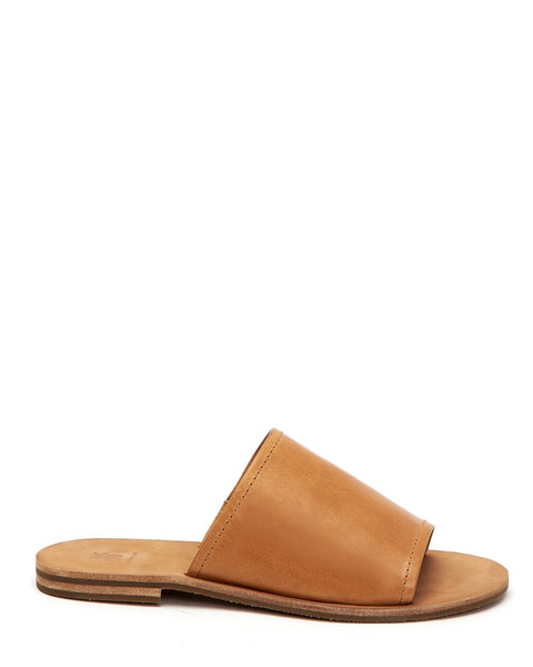 Frye Shoes Natural / 6 Riley Slide