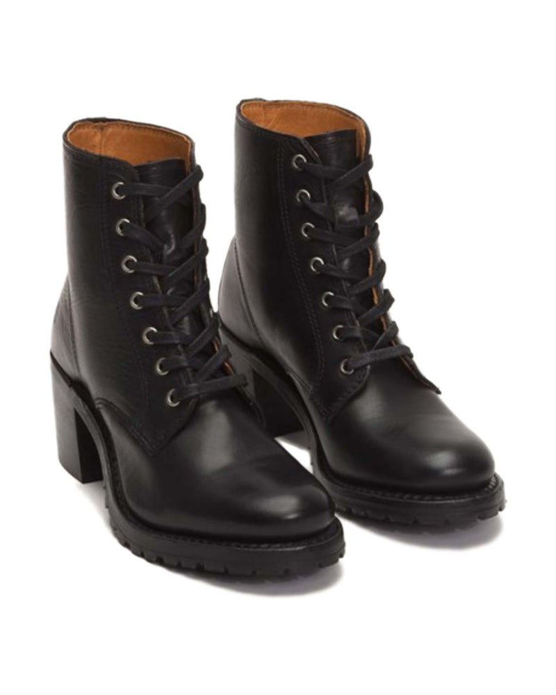 Frye Shoes Black / 6 Sabrina 6G Lace Up