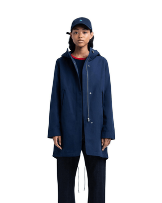 Herschel Supply Co. Outerwear Fishtail Parka in Peacoat