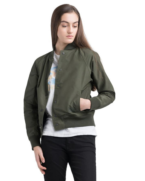 Herschel Supply Co. Outerwear Dark Olive / XS Varsity Jacket in Dark Olive