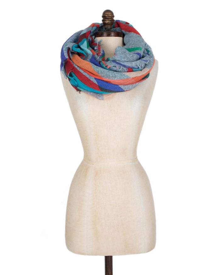 Inouitoosh Accessories Blue/Yellow / O/S Rubens Scarf