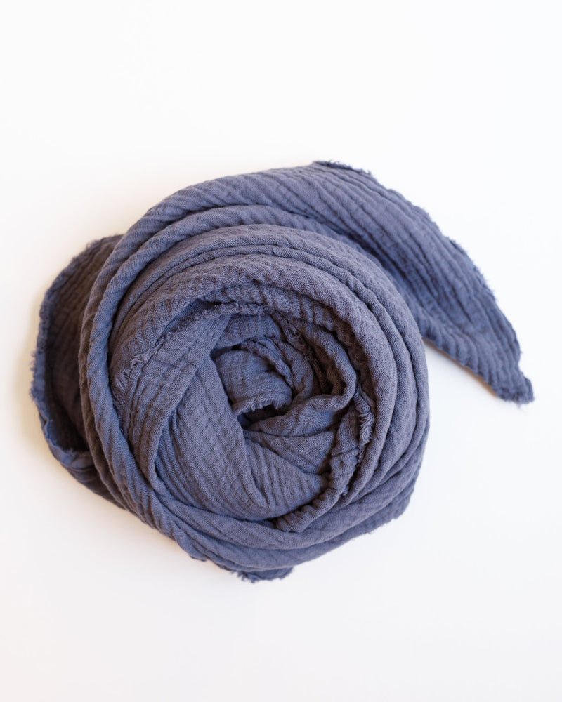 It Is Well LA Accessories Slate Blue / O/S Freedom Scarf in Slate Blue