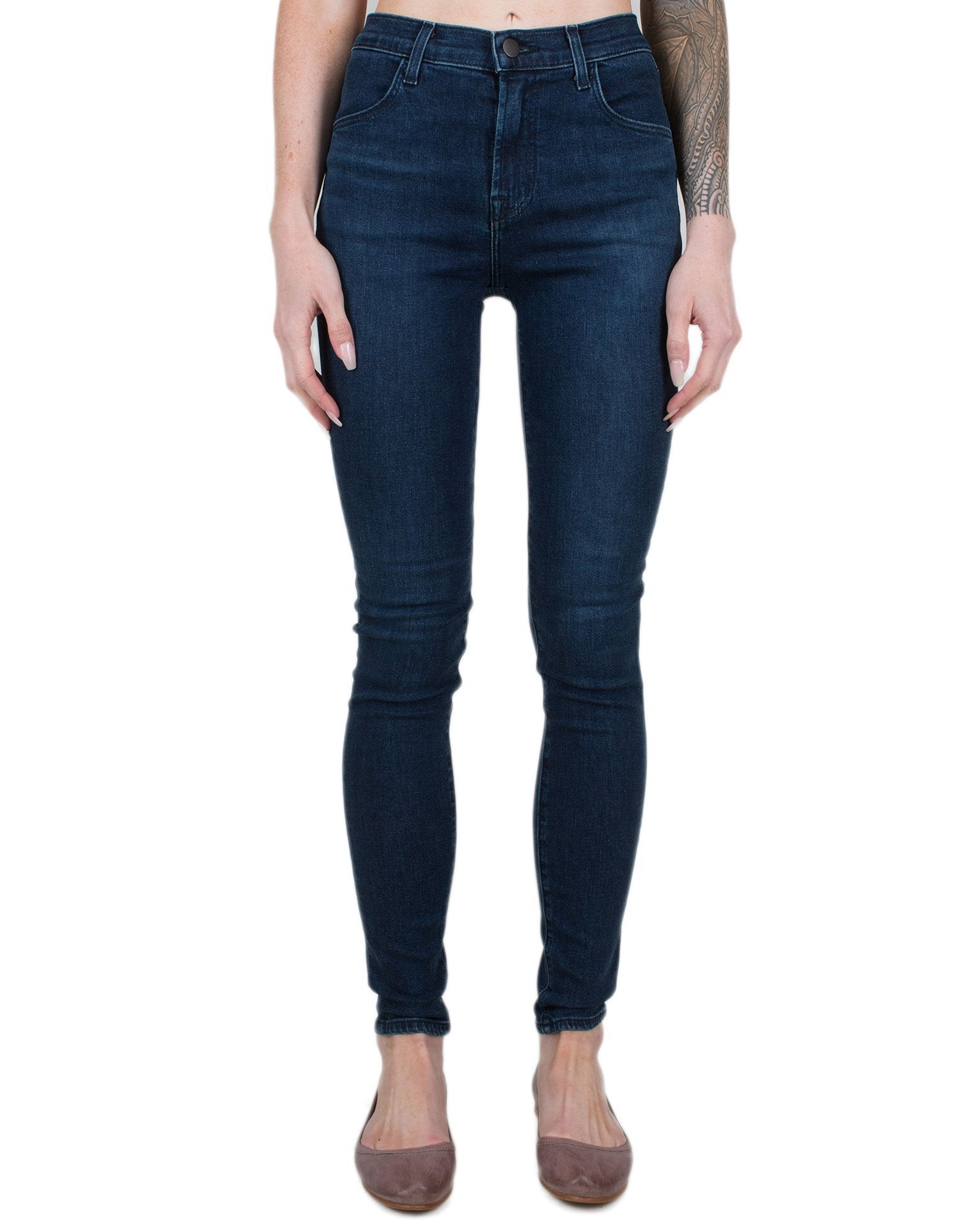 J Brand Denim Commit / 25 Maria High Rise Skinny in Commit