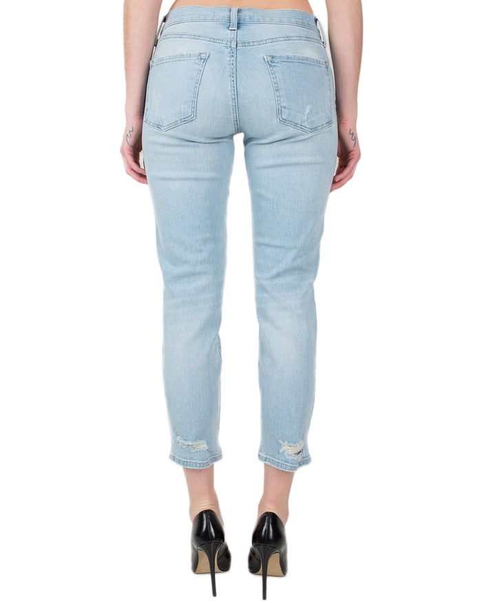 J Brand Denim Starstruck Destruct / 25 Sadey Slim Straight
