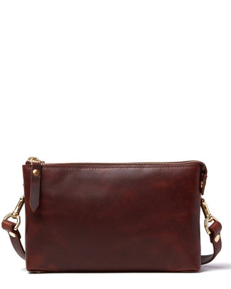 J.W. Hulme Accessories American Heritage / O/S Sophie Double Zip Crossbody