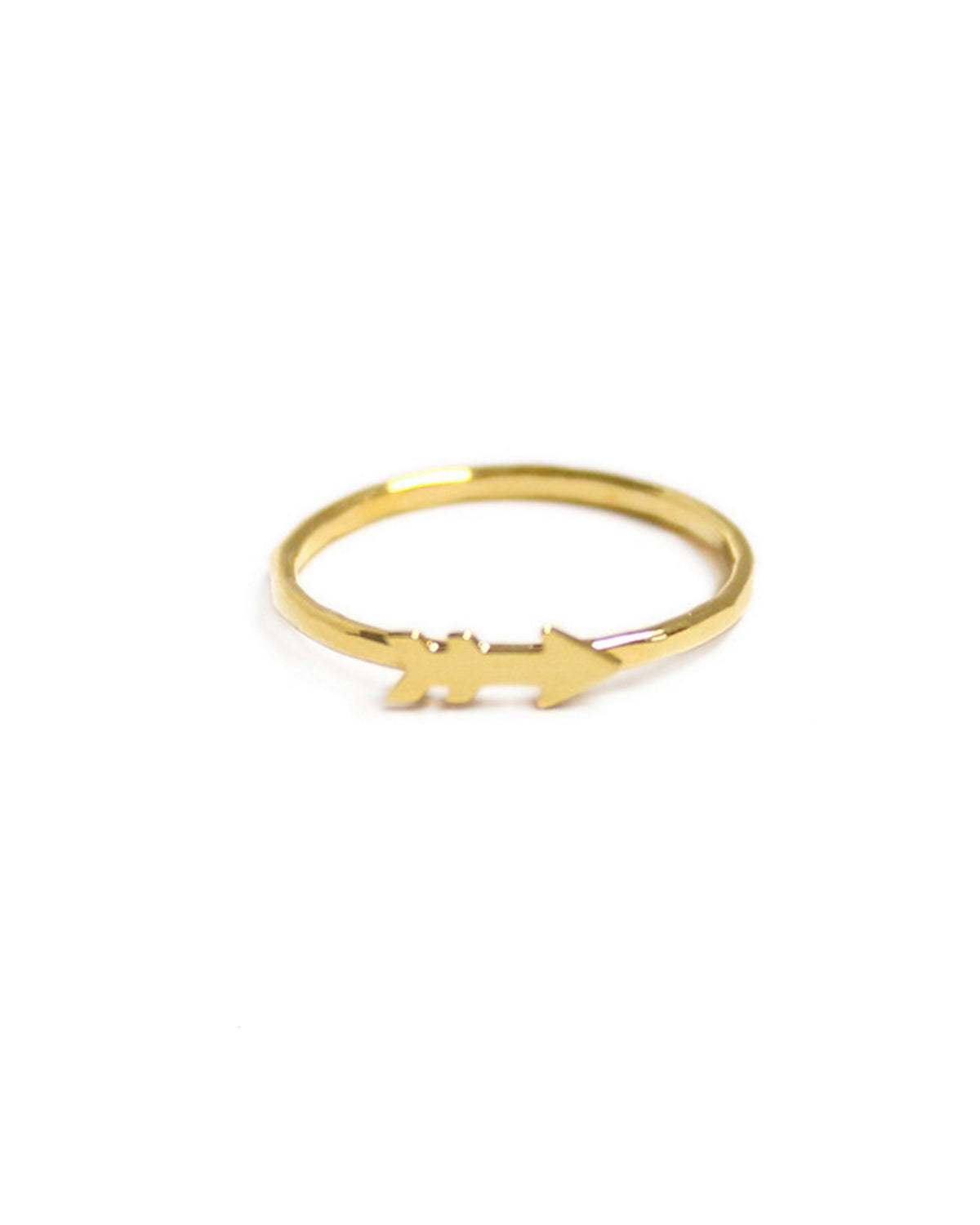 Kris Nations Jewelry Gold / 3 Arrow Knuckle Ring