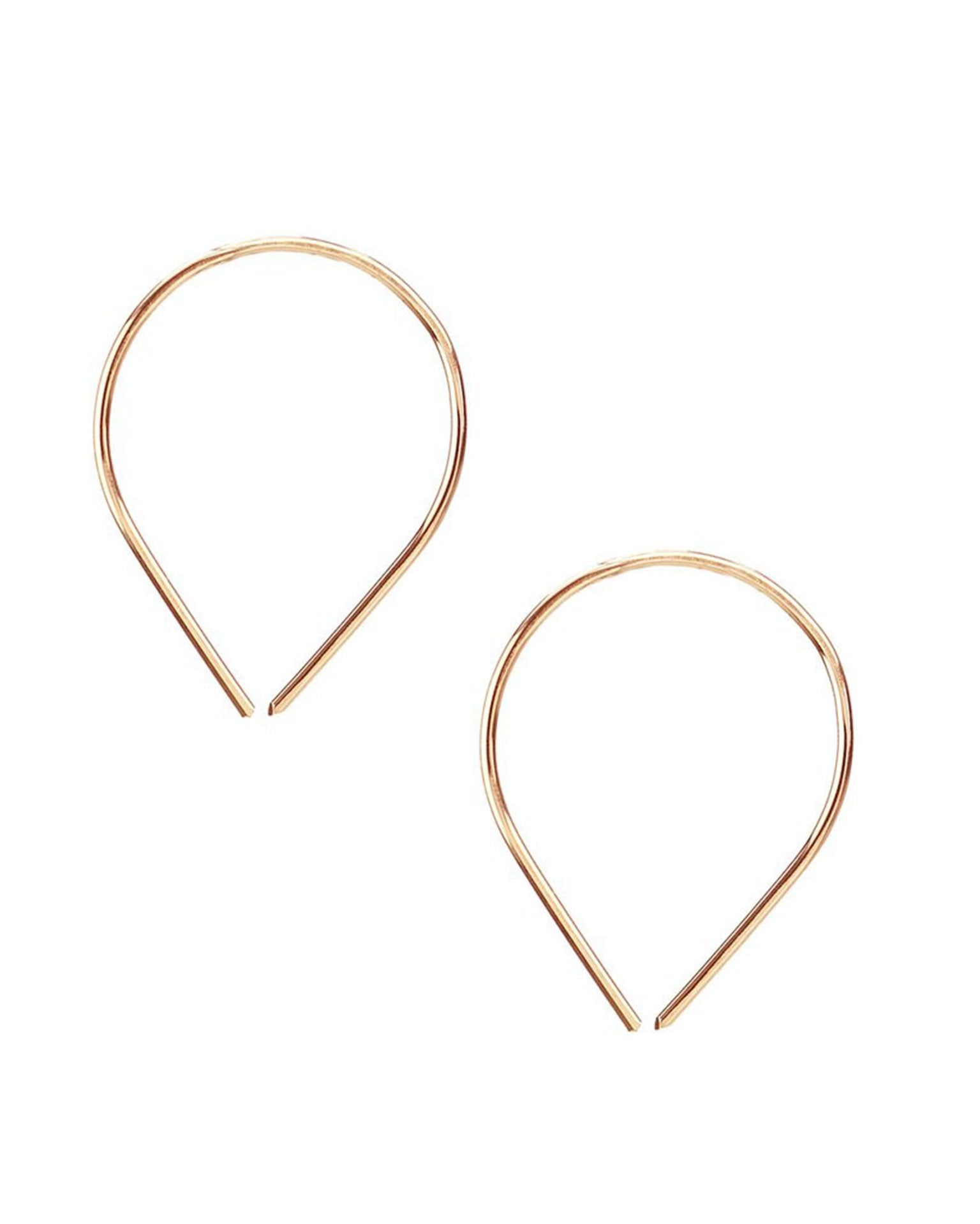 Kris Nations Jewelry 14K Gold-Filled / O/S Balloon Pull Through Hoops