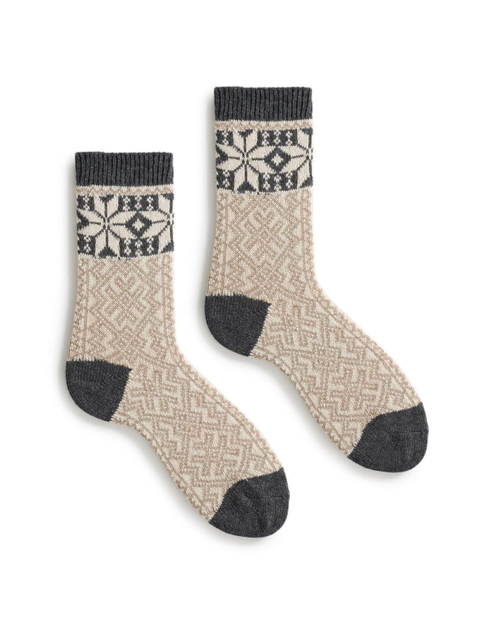 Lisa B. Socks Mushroom / O/S Alpine Crew Socks