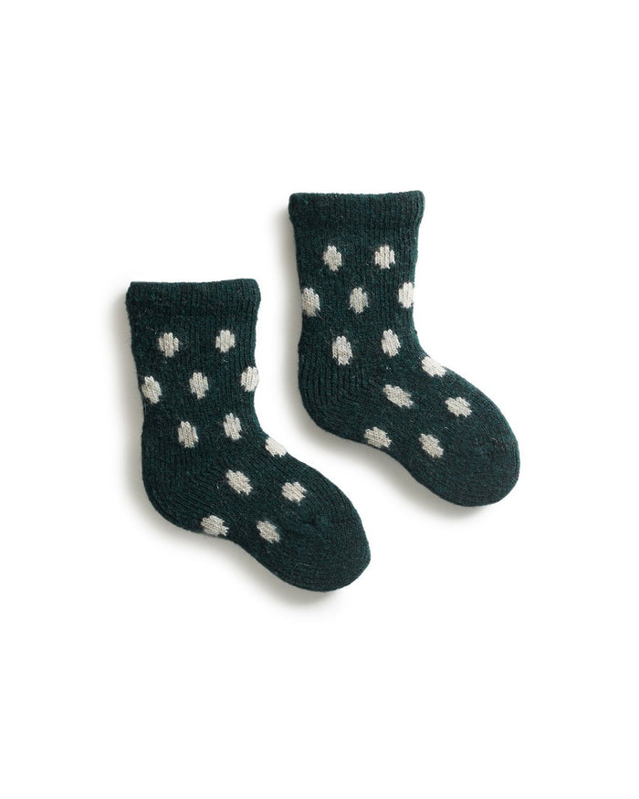 Lisa B. Socks Ivy / O/S Baby Dot Socks
