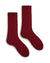 lisa b. Accessories Sumac Chunky Cable Socks in Sumac