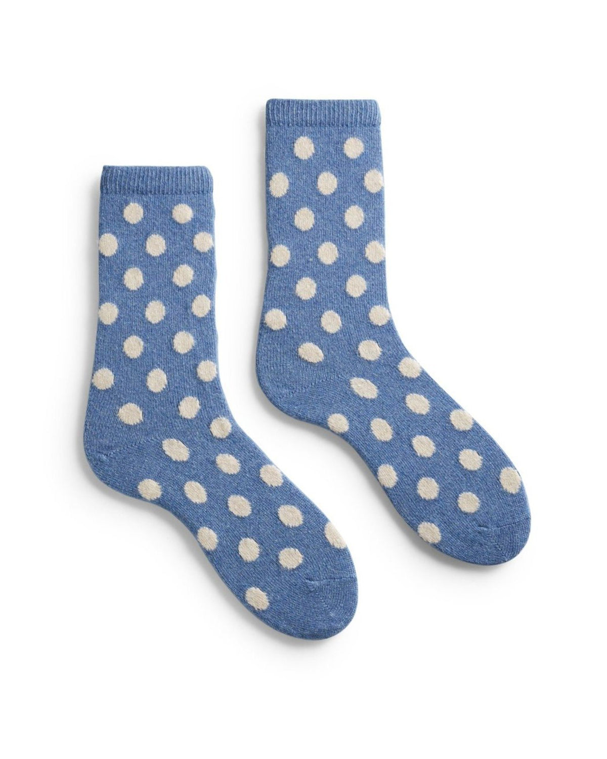 Lisa B. Accessories Chambray / O/S Dot Socks