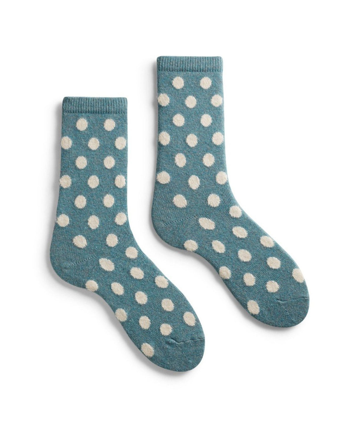 Lisa B. Accessories Mineral / O/S Dot Socks