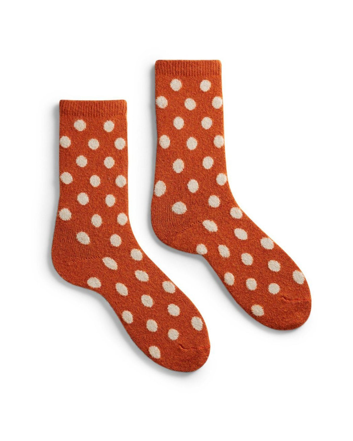 Lisa B. Accessories Pumpkin / O/S Dot Socks