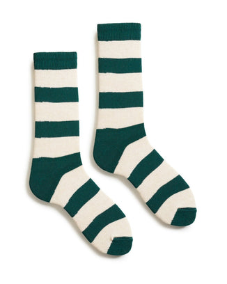 lisa b. Accessories Emerald Rugby Stripe in Emerald