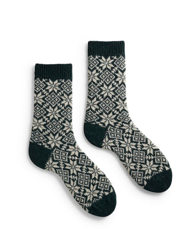 Lisa B. Accessories Ivy / O/S Snowflake Socks
