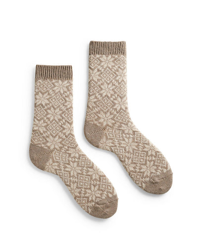 Lisa B. Accessories Mushroom / O/S Snowflake Socks