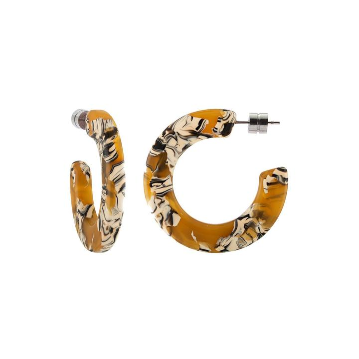 Machete Jewelry Calico Kate Hoops in Calico