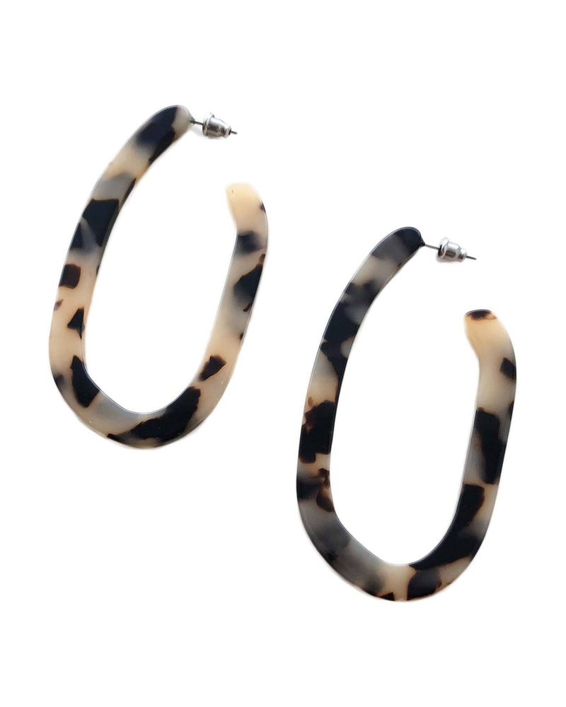 Machete Jewlery Blonde Tortoise / O/S Margot X Hoops