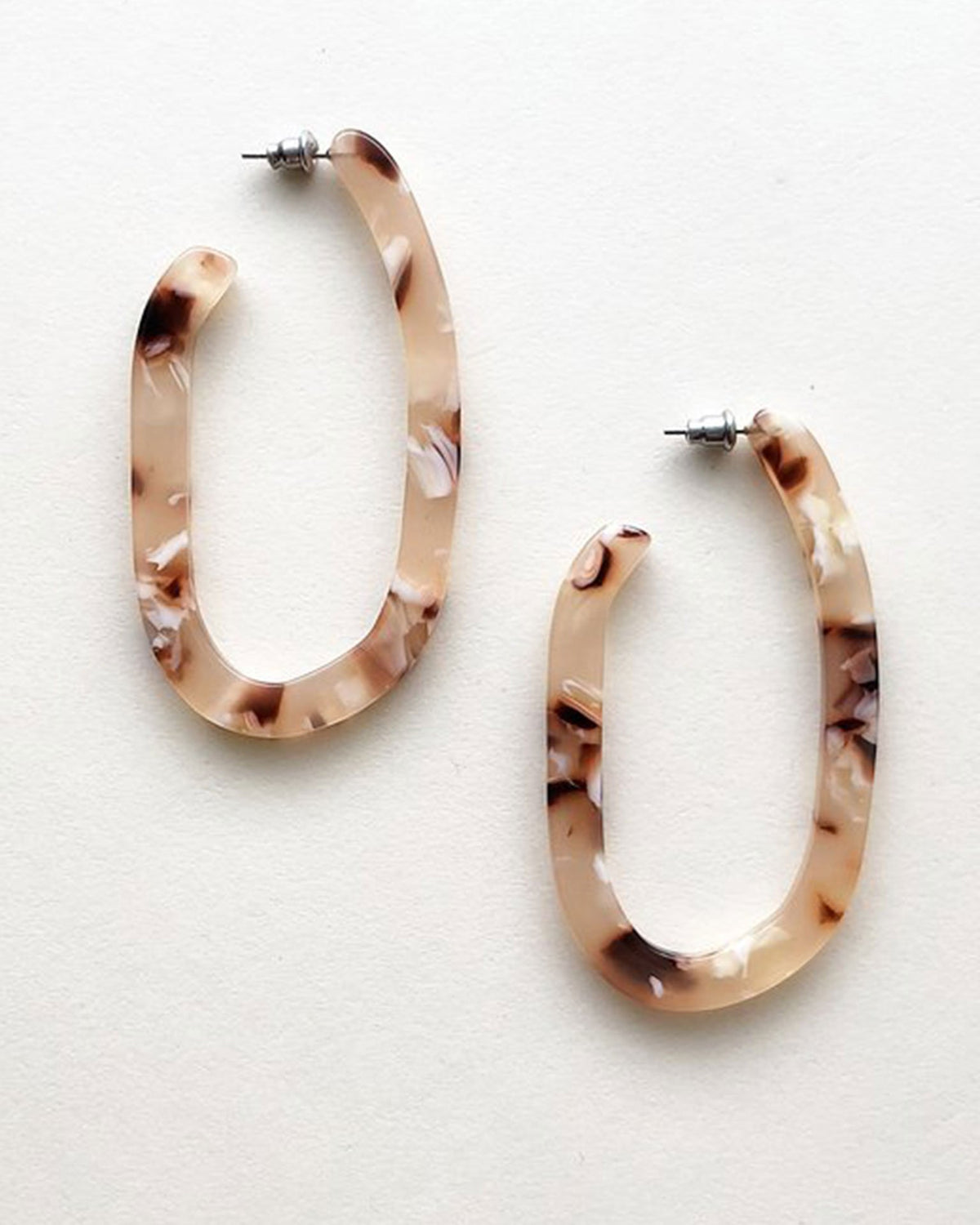 Machete Jewlery Blush Tortoise / O/S Margot X Hoops