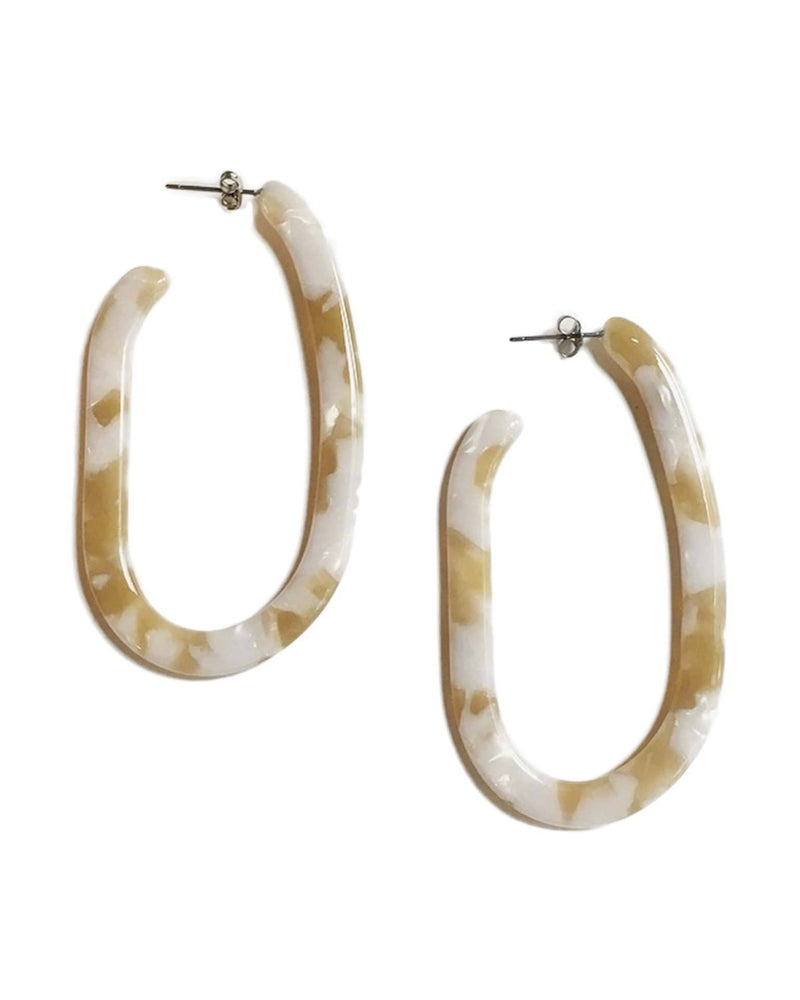 Machete Jewlery Taupe Shell / O/S Margot X Hoops