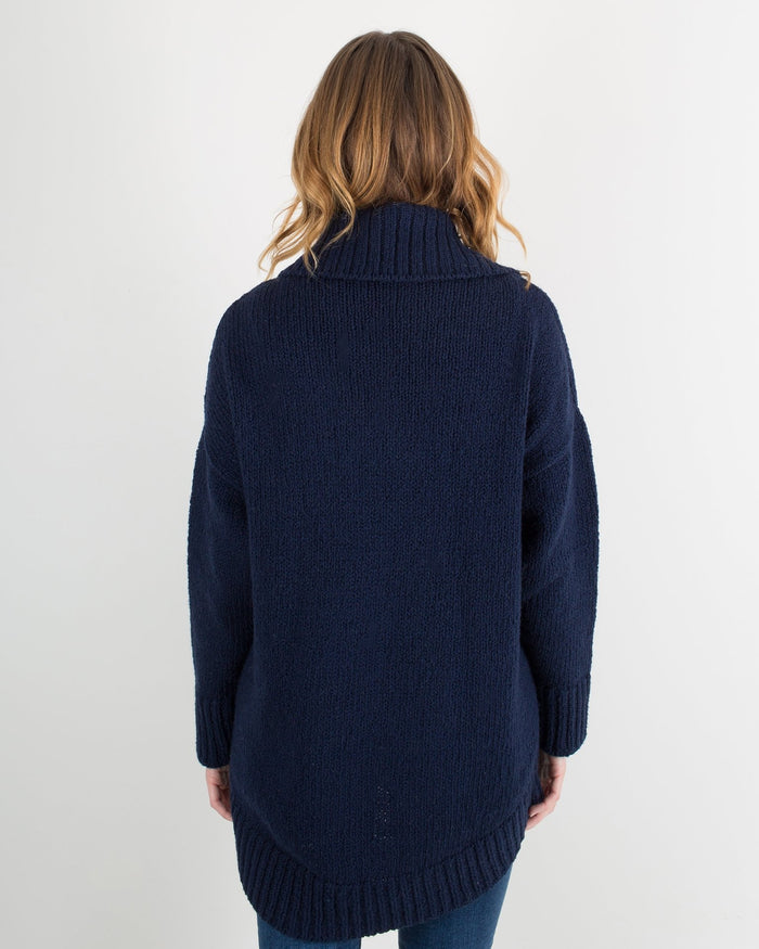 Margaret O'Leary Clothing Navy / XS Cotton Cardigan