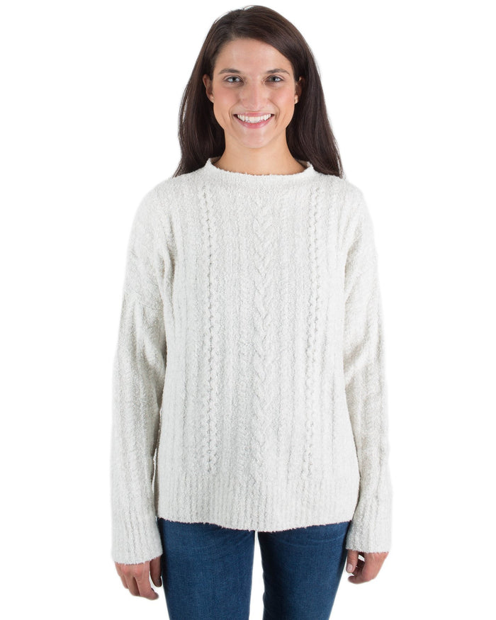 Margaret O'Leary Clothing Ivory / XS Glamping Sweater