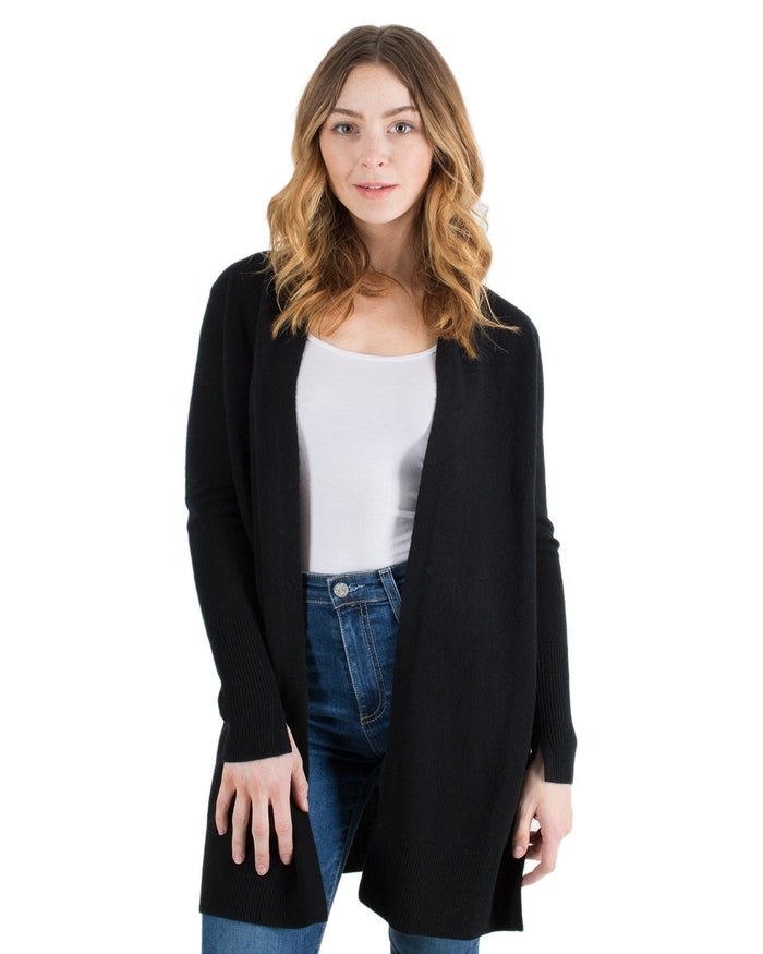 Margaret O'Leary Clothing Black / XS Long Duster