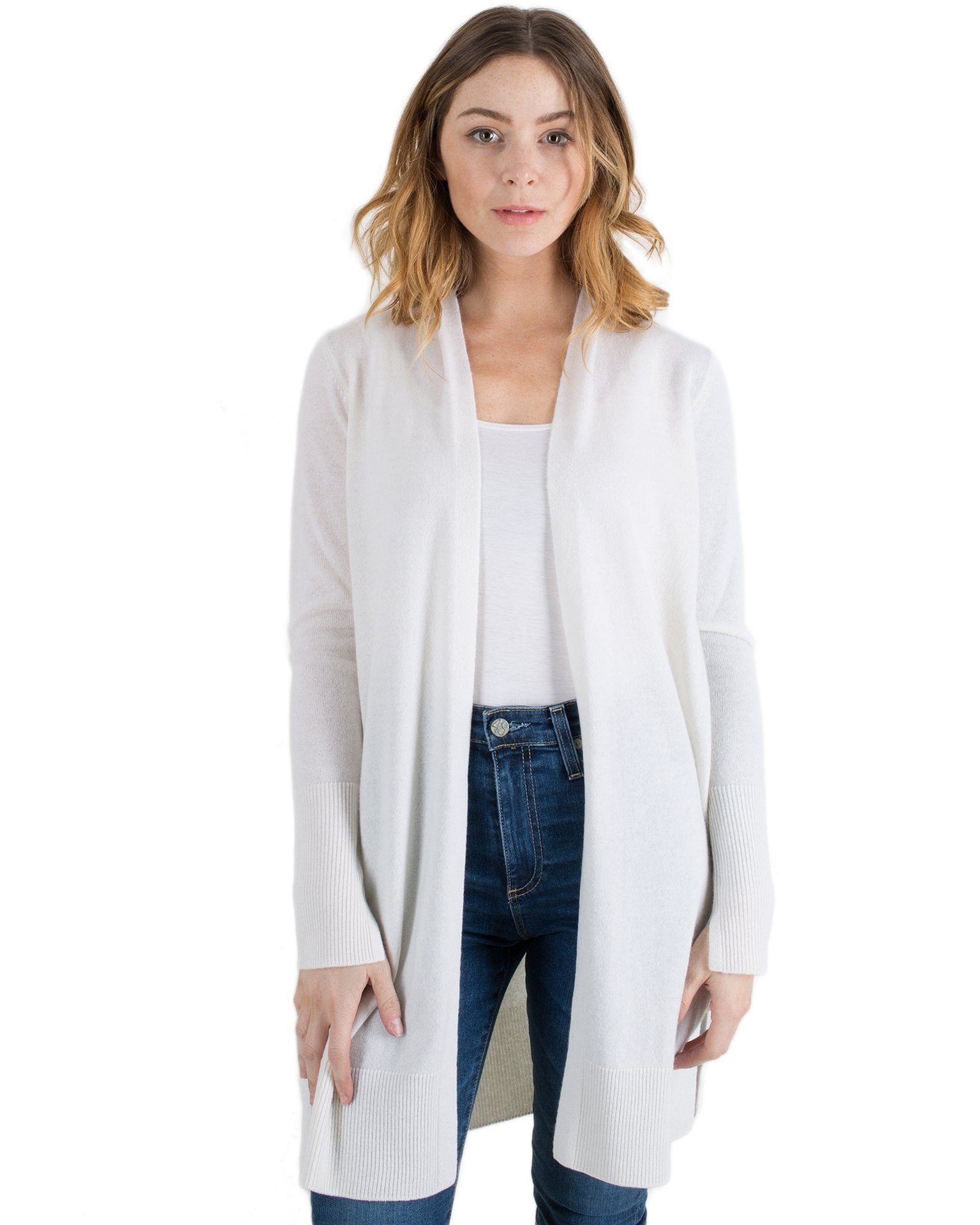 Margaret O'Leary Clothing Ivory / XS Long Duster