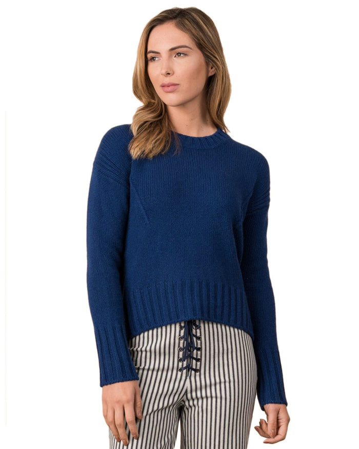 Margaret O'Leary Clothing Marine / XS Luxe Pullover