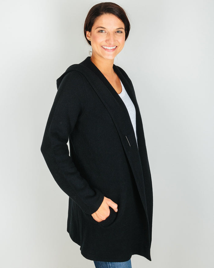 Margaret O'Leary Clothing St Adela Jacket in Black