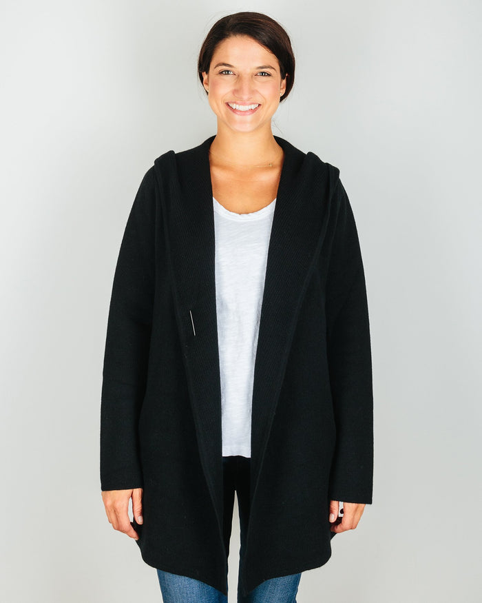 Margaret O'Leary Clothing Black / XS St Adela Jacket in Black