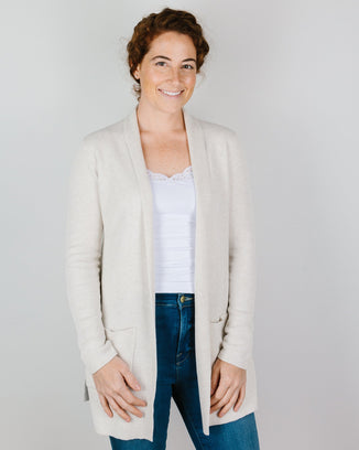 Margaret O'Leary Clothing Thermal Duster in Oat